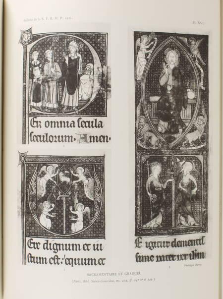 Manuscrits à peintures des bibliothèques Ste Geneviève et Mazarine - 1921-1933 - Photo 1 - livre moderne