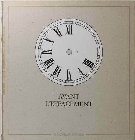 [Photographie] Avant l'effacement - Sudek, Godwin, Hedel, Batho, Cartier-Bresson - Photo 0 - livre d'occasion