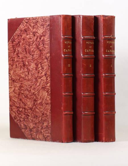WELD - Voyage au Canada pendant les années 1795, 1796 et 1797 - 3 vols gravures - Photo 0 - livre du XIXe siècle