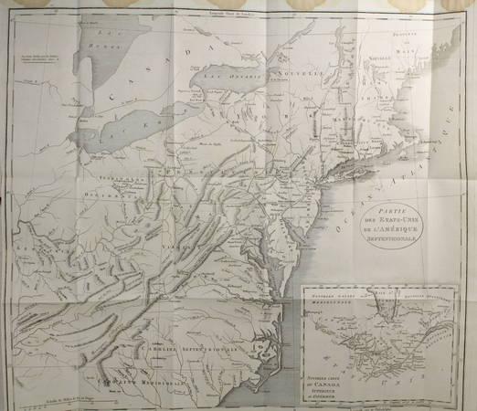 WELD - Voyage au Canada pendant les années 1795, 1796 et 1797 - 3 vols gravures - Photo 3 - livre du XIXe siècle