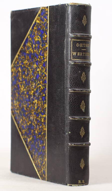 GOETHE Werther. Traduction nouvelle, précédée de considérations sur la 1881 - Photo 0 - livre du XIXe siècle