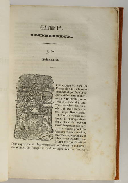 BARSE - Lettres et discours de Gerbert traduits pour la première fois, Riom 1847 - Photo 0 - livre romantique