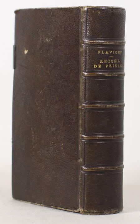 FLAVIGNY - Recueil de prières, de méditation et de lectures - 1861 - Photo 1 - livre de collection