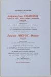PREVOT (Ph.). Artisans d'autrefois, deuxième série : Antoine-Jean Chambon, tailheur de pierre, maistre-masson, entrepreneur (1703-1770). Préface par H. Chobaut. La confrérie des pénitents violets, la confrérie des pauvres femmes, les Mottard, les Allemand, etc. [suivi de :] Jacques Prévot, doreur (1740-1794). Préface par Joseph Girard. Avec notices et notes concernant la confrérie des pénitents noirs de la miséricorde de Saint-Jean le décollé, la maison des pauvres insensés, les exécutions capitales au XVIIIe siècle, les cimetières St-Roch et St- Lazare-St-Véran, etc. etc.
