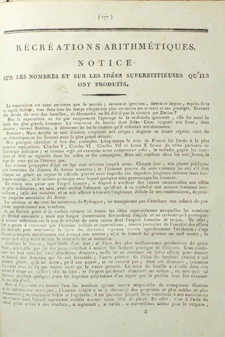 [MATHS] ANQUETIN - Arithmétique méthodique et démontrée - An IX - Très rare - Photo 6 - livre du XIXe siècle