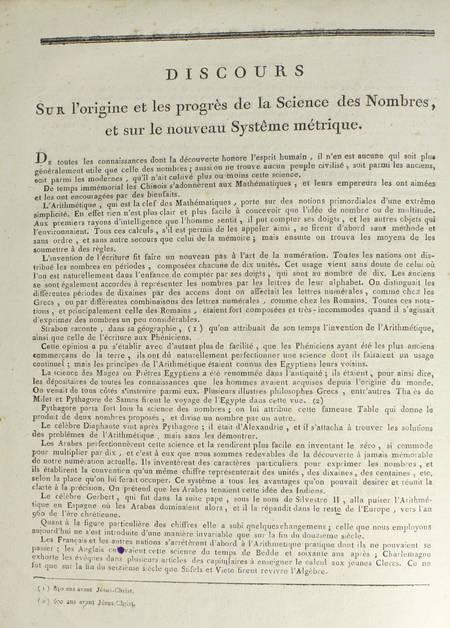 [MATHS] ANQUETIN - Arithmétique méthodique et démontrée - An IX - Très rare - Photo 7 - livre du XIXe siècle