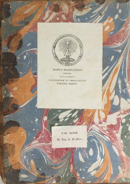 FABRICIUS - Bibliotheca latina mediae et infimae aetatis - 1754 - 3 volumes in-4 - Photo 1 - livre ancien