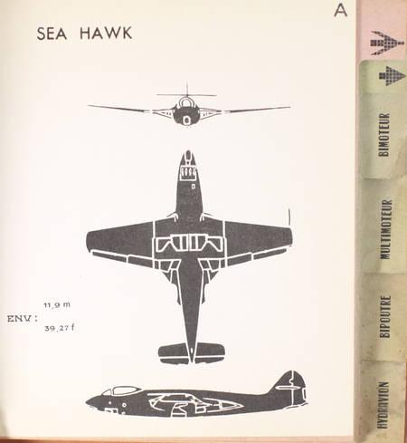 . Carnet d'identification de silhouettes d'avions