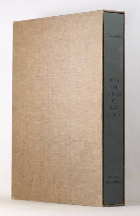 DEMAISON Bêtes sur la terre et dans le ciel 1961 - CAMI - signé Houphouët-Boigny - Photo 1 - livre rare