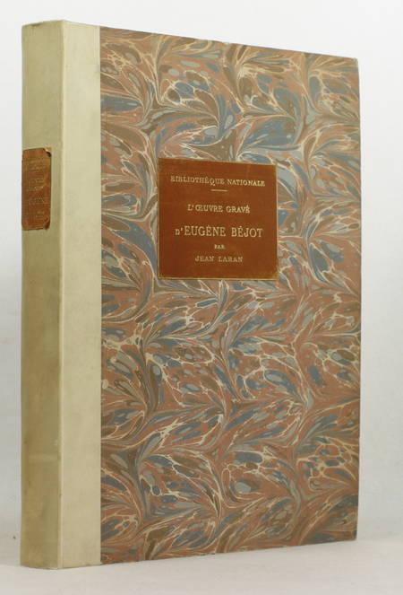LARAN - L oeuvre gravé d Eugene Béjot - 1937 - Eaux-fortes - Envoi à Babelon - Photo 1, livre rare du XXe siècle