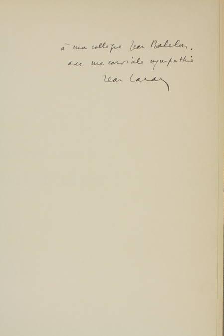 LARAN - L'oeuvre gravé d'Eugene Béjot - 1937 - Eaux-fortes - Envoi à Babelon - Photo 2 - livre de bibliophilie