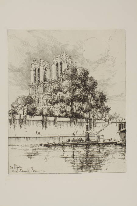 LARAN - L oeuvre gravé d Eugene Béjot - 1937 - Eaux-fortes - Envoi à Babelon - Photo 3, livre rare du XXe siècle