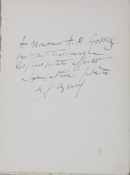 BRUEL (André). Les cousines de Joachim du Bellay, abesses de Nyoiseau, livre rare du XXe siècle