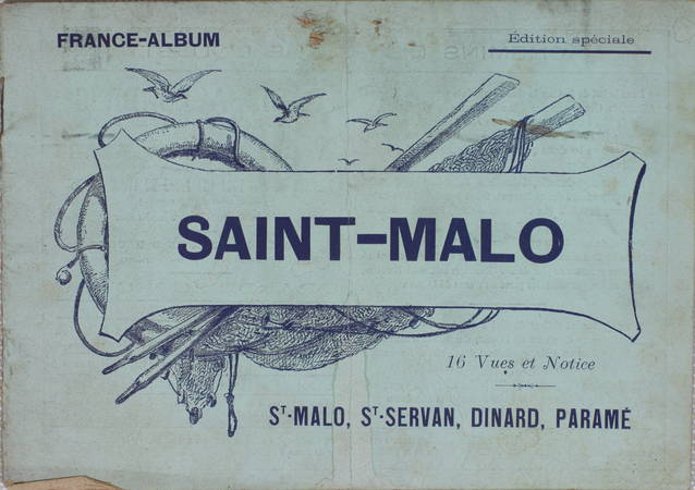 France Album : St-Malo, St-Servan, Dinard, ... - 16 vues et notice (Vers 1900) - Photo 1 - livre d'occasion