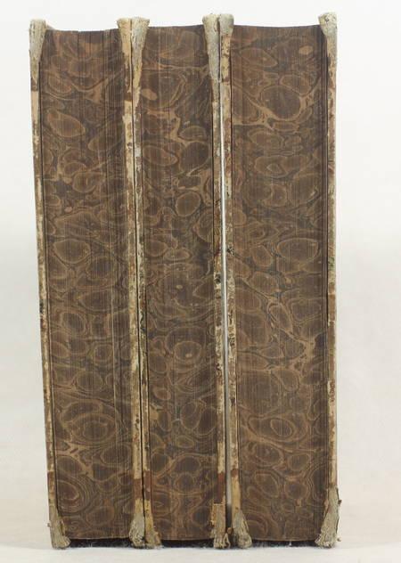 CHEVALLIER - Flore générale des environs de Paris - 1826 - 3 volumes - Photo 3 - livre rare