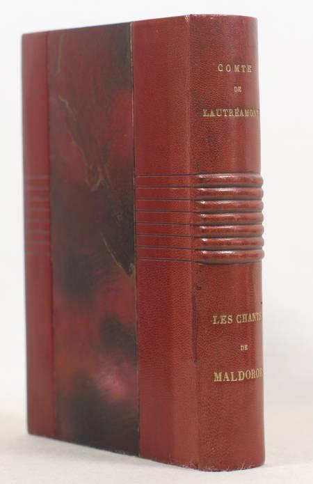 LAUTREAMONT (Isidore Ducasse, comte de). Les chants de Maldoror