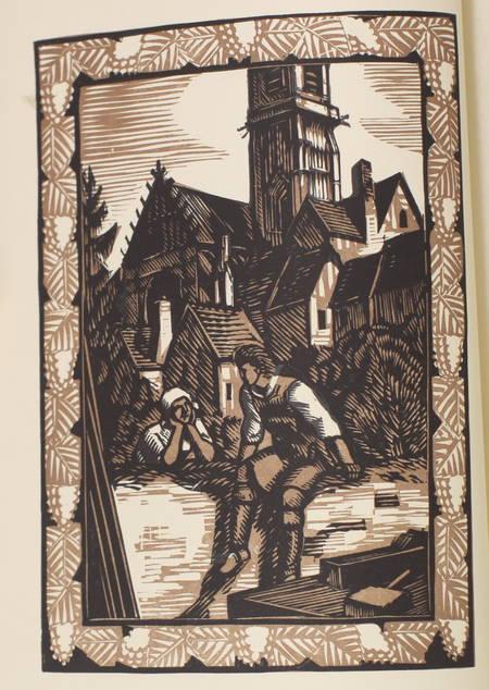 Romain ROLLAND - Colas Breugnon - 1927 - Bois gravés par Deslignères - Photo 0 - livre du XXe siècle