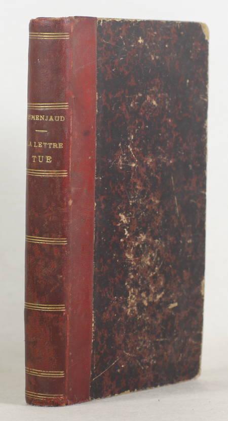 ESMENJAUD curé demissionaire - La lettre tue mais l'esprit vivifie - 1867 Envoi - Photo 1 - livre rare