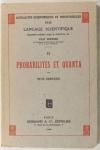 [Physique quantique] Pius SERVIEN - Probabilités et quanta - 1948 - Photo 0 - livre de bibliophilie