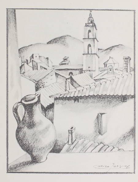 Jean GIONO - Manosque-des-Plateaux - 1930 - EO numéroté sur vélin Lafuma - Photo 0 - livre moderne