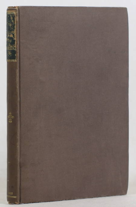 La valise de Molière - Comédie en un acte - 1868 - Edouard Fournier - 1/250 - Photo 1 - livre de bibliophilie