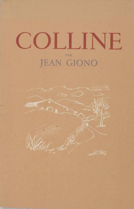 Jean GIONO - Colline - 16 eaux-fortes par André Jacquemin - Photo 1 - livre d'occasion