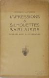 Sables d Olonne - LAFARGUE - Impressions et silhouettes Sonnets - vers 1930 - Photo 1 - livre d occasion