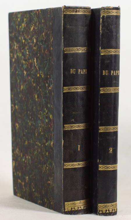 Joseph de MAISTRE - Du pape - 1819 - 2 volumes - EO - Photo 0, livre rare du XIXe siècle