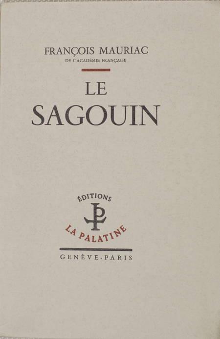 François MAURIAC - Le sagouin - 1951 - EO 1/120 Lafuma - Photo 1 - livre de collection