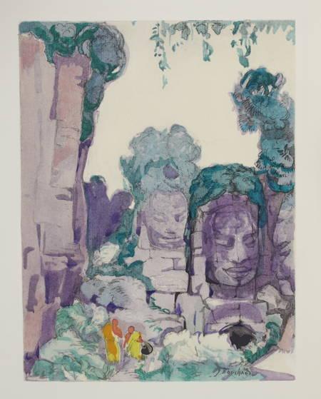 LYAUTEY - Lettres du Tonkin 1928 - 2 volumes - Ill en couleurs de Jean Bouchaud - Photo 0 - livre d'occasion