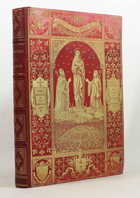 [Typographie] Magnificat en 150 langues - 1887 - Chromolithographie - Photo 1 - livre rare