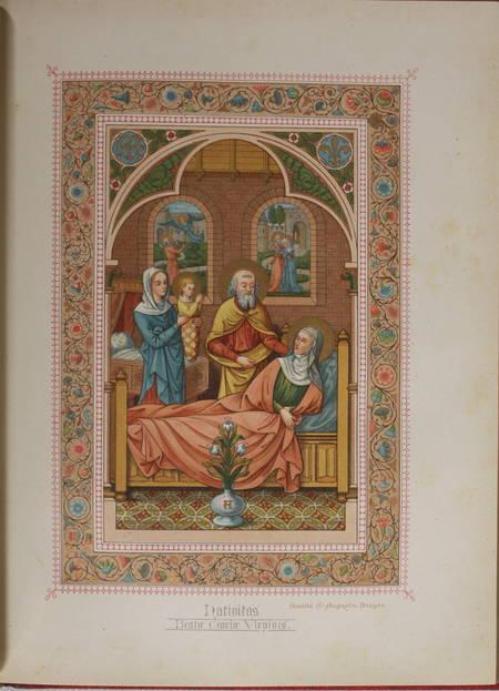 [Typographie] Magnificat en 150 langues - 1887 - Chromolithographie - Photo 5 - livre rare