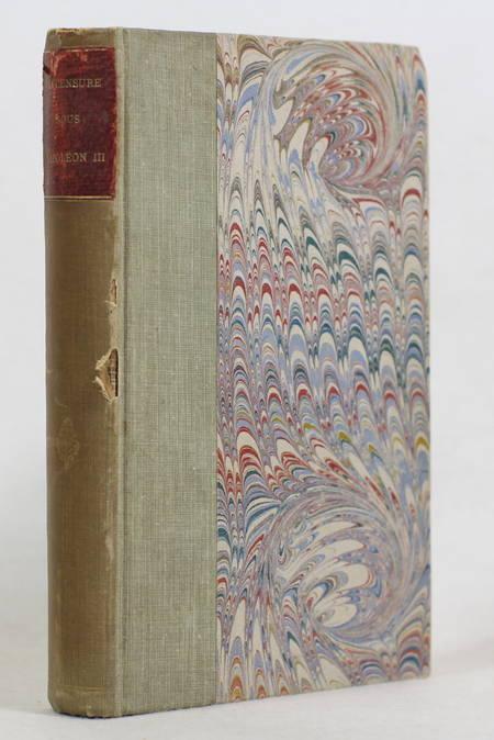 La censure sous Napoleon III - Rapports inédits 1852 à 1866 - 1892 - Photo 1 - livre d'occasion