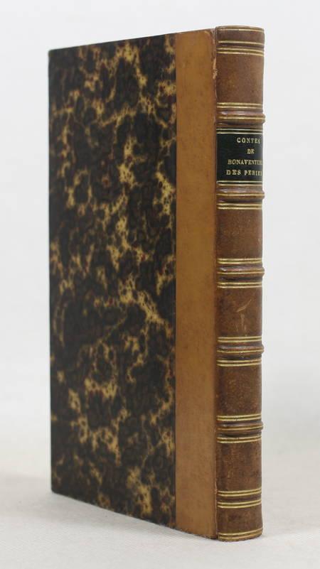Bonaventure des Periers - Contes ou nouvelles récréations et joyeux devis 1843 - Photo 0 - livre romantique