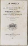 Bonaventure des Periers - Contes ou nouvelles récréations et joyeux devis 1843 - Photo 1 - livre rare