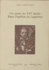 BALMAS Un poète du XVIe siècle : Marc Papillon de Lasphrise - 1983 - Photo 0 - livre moderne