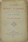 Le mystère de Robert le diable Texte du XIVe - Edition d Edouard Forunier (1879) - Photo 0 - livre rare