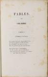 Fables, par J. M. F. Auguste Duvivier - 1843 - Photo 2, livre rare du XIXe siècle