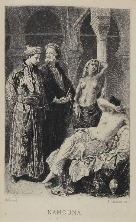 MUSSET Premières poésies 1829-1835 - 1884 - Petit format - Portrait + eau-forte - Photo 0 - livre de collection