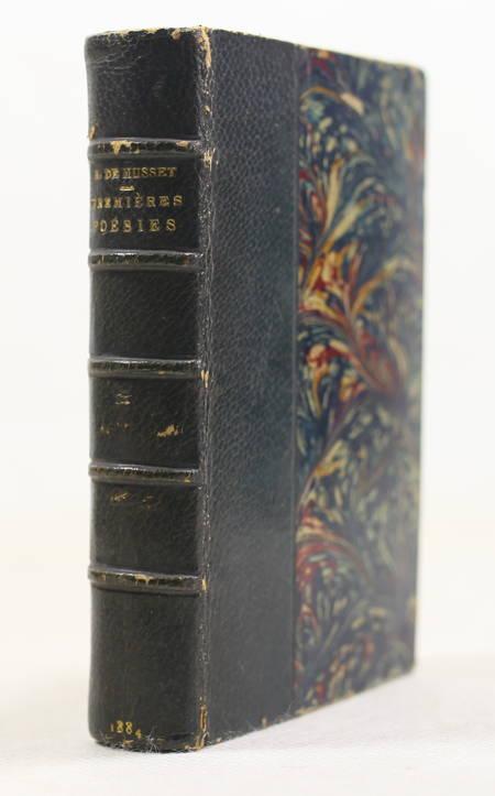MUSSET Premières poésies 1829-1835 - 1884 - Petit format - Portrait + eau-forte - Photo 1 - livre de collection