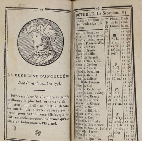 Indicateur de la cour de France et des départements. seconde année - 1815 - Photo 1, livre rare du XIXe siècle