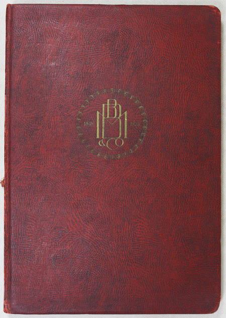 [Roumanie] Banque Marmorosch, Blank & Co. Société anonyme. 1848-1923 - Photo 4 - livre de bibliophilie
