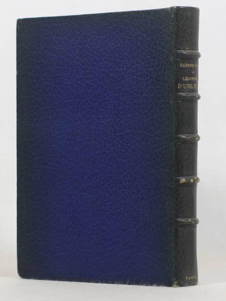 Carmen SYLVA - Les pensées d'une reine - 1888 - Maroquin bleu - Photo 1 - livre de bibliophilie