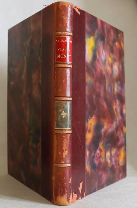 [Impressionisme] Arsène ALEXANDRE - Claude Monet - 1921 - Planches - Photo 1 - livre de collection