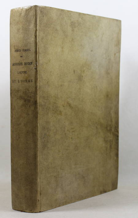 Judith Cladel - Auguste RODIN - L'oeuvre et l'homme - 1908 - In-folio - Planches - Photo 1 - livre d'occasion