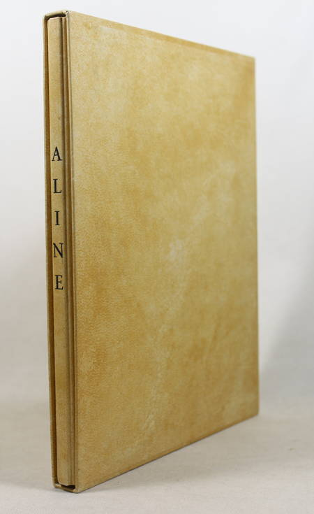 RAMUZ - Aline - 1945 - 19 pointes sèches de Pierre Vienot - Photo 1 - livre de bibliophilie
