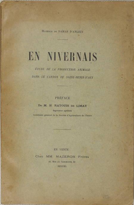 DAMAS d'ANLEZY - En Nivernais - Saint-Benin-d'Azy - (1910) - Photo 1 - livre du XXe siècle