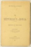 ESTALENX (Jean-François d'). La république du Houga