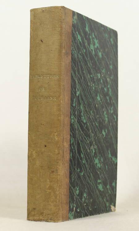 CHALMEL - Tablettes de l'histoire civile et ecclésiastique de Touraine - 1818 - Photo 1 - livre romantique