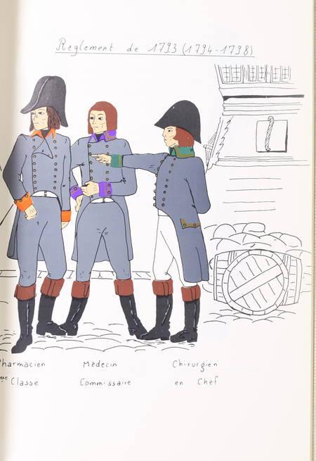 MILLET - L'uniforme des officiers du service de santé - 1757-1814 - Photo 2 - livre d'occasion